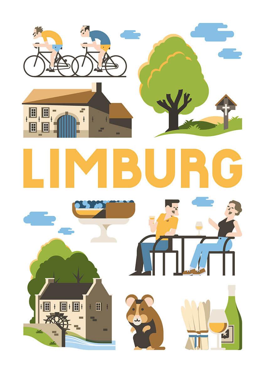 Limburg poster en souvenirs