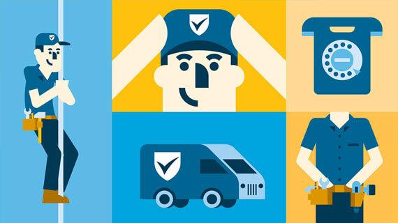 Animatie Politie Keurmerk Veilig Wonen
