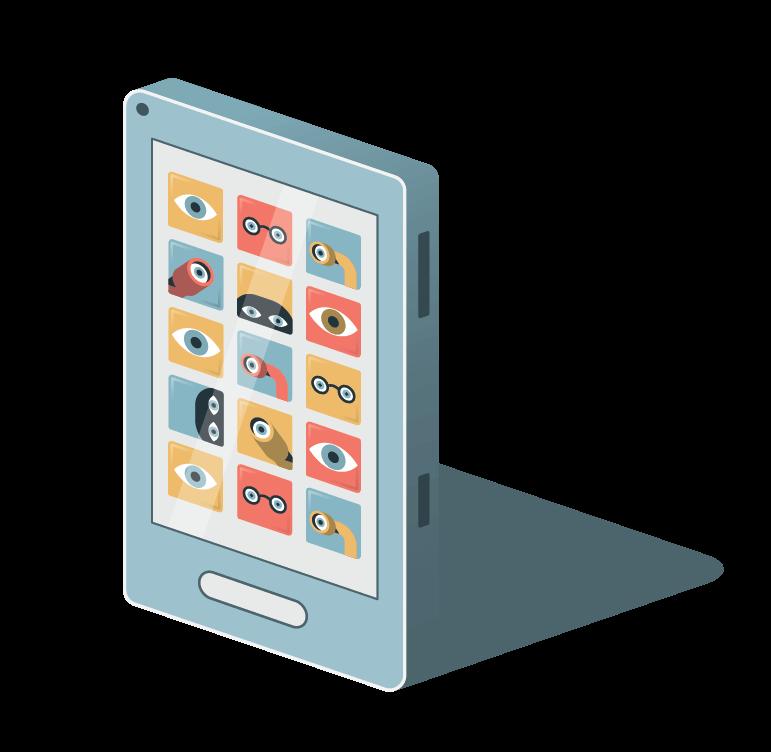 Illustratie online privacy Knack