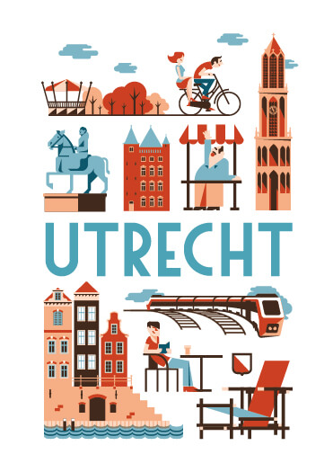 Utrecht poster en souvenirs