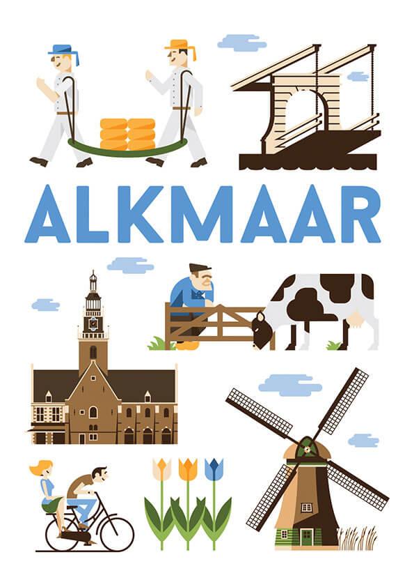 Alkmaar poster en souvenirs