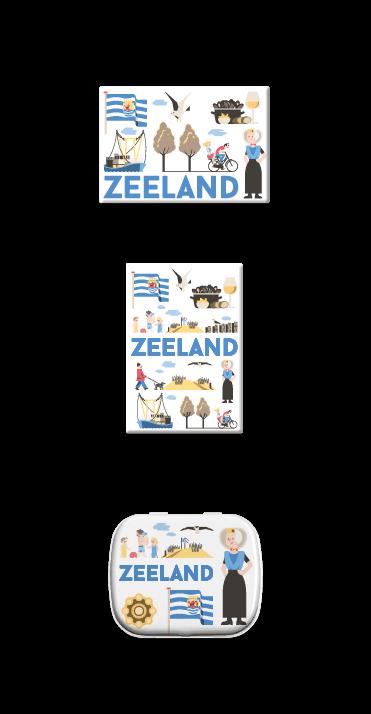 Zeeland_Koelkastmagneet