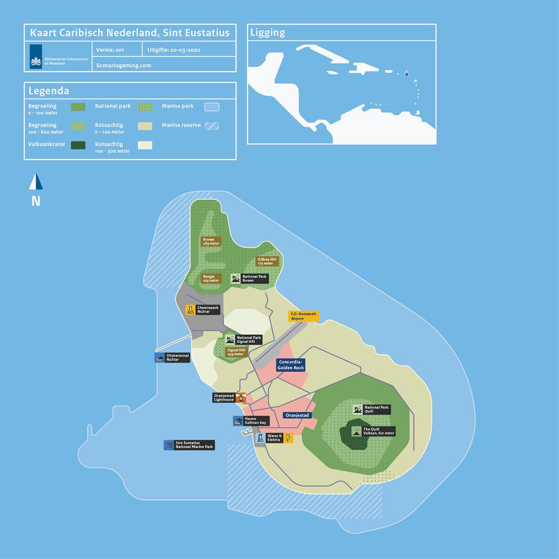 DCC-I&W_Kaart_Caraibisch_Sint-Eustatius
