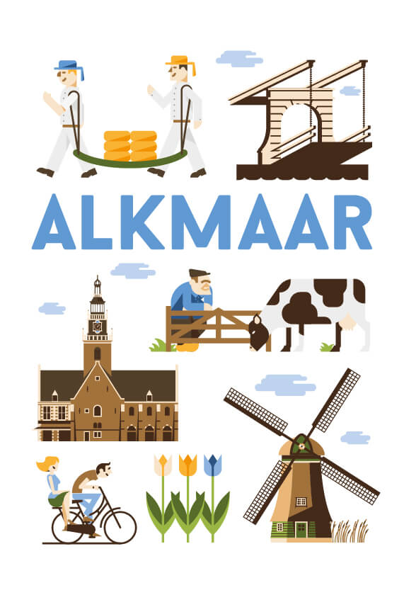 Stedenposters_Alkmaar