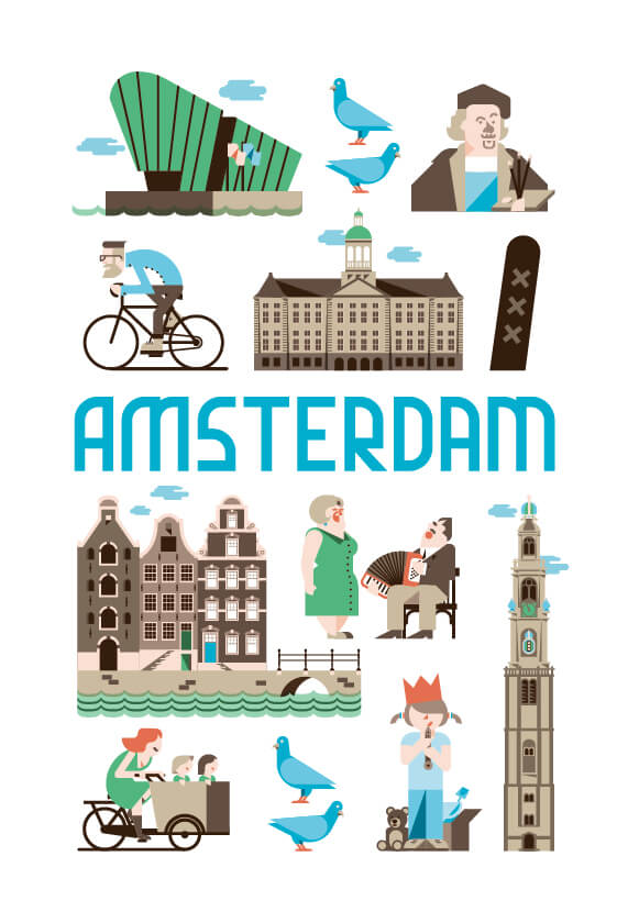 Stedenposters_Amsterdam
