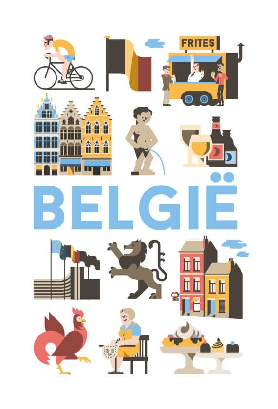 Stedenposters_Belgie
