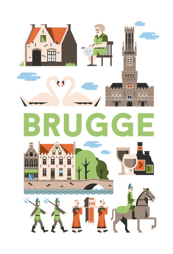 Stedenposters_Brugge