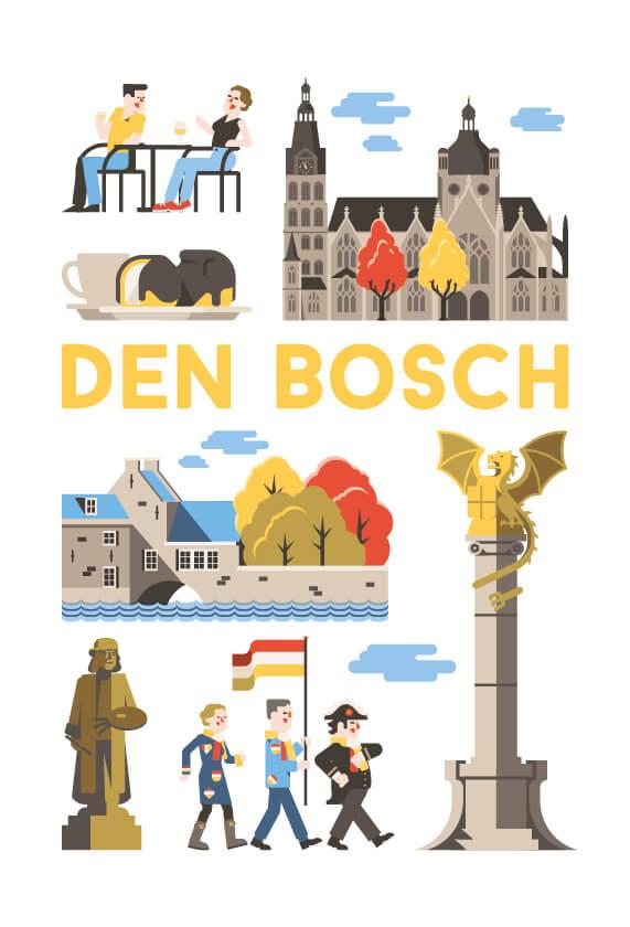 Stedenposters_Den Bosch
