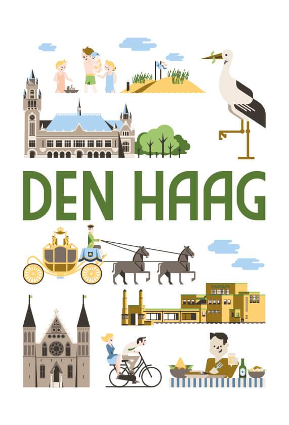 Stedenposters_Den Haag