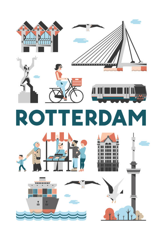 Stedenposters_Rotterdam