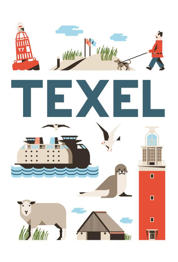 Stedenposters_Texel