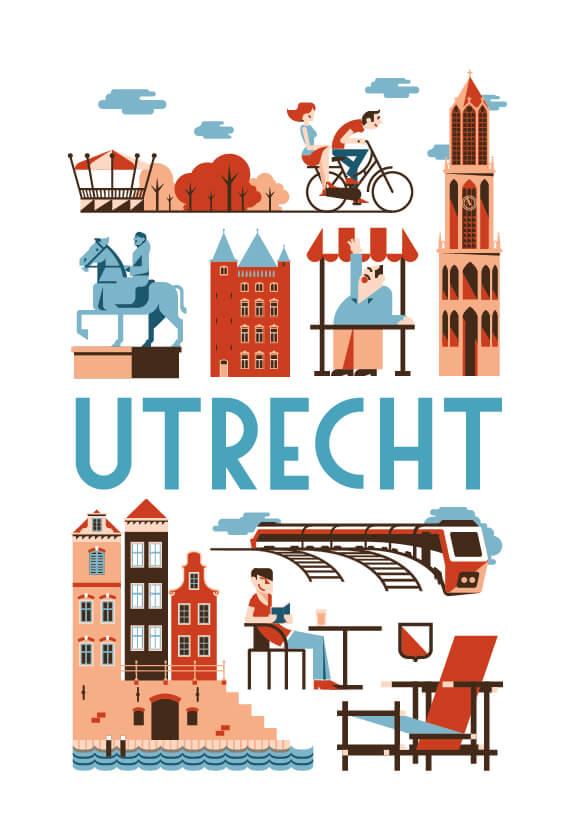 Stedenposters_Utrecht