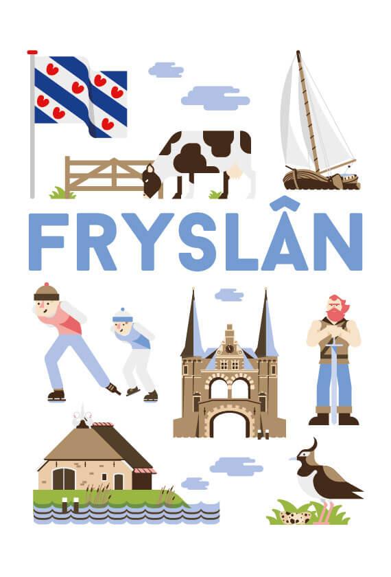 Stedenposters_Fryslan