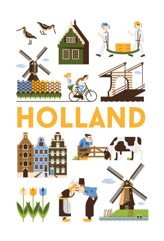 Stedenposters_Holland