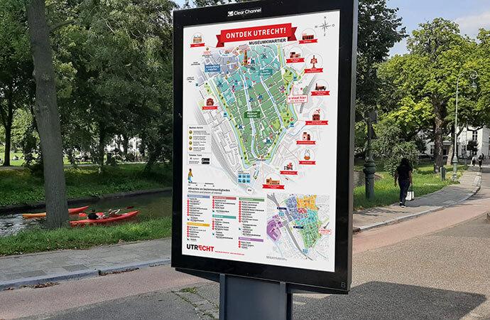 Iconen stadsplattegronden gemeente Utrecht