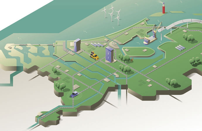 Coverillustratie WVL rapport Rijkswaterstaat